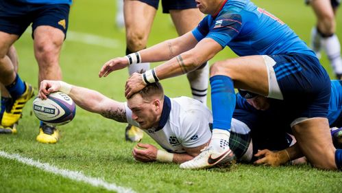 Hogg inspires Scotland to end ten-year wait against France