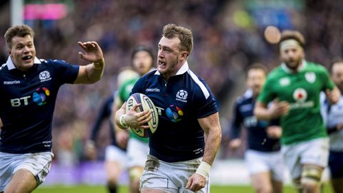 Stuart Hogg's stand-out moments in the 2017 RBS 6 Nations