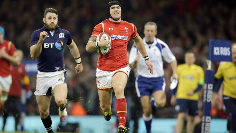 James laments missed Wales try chance