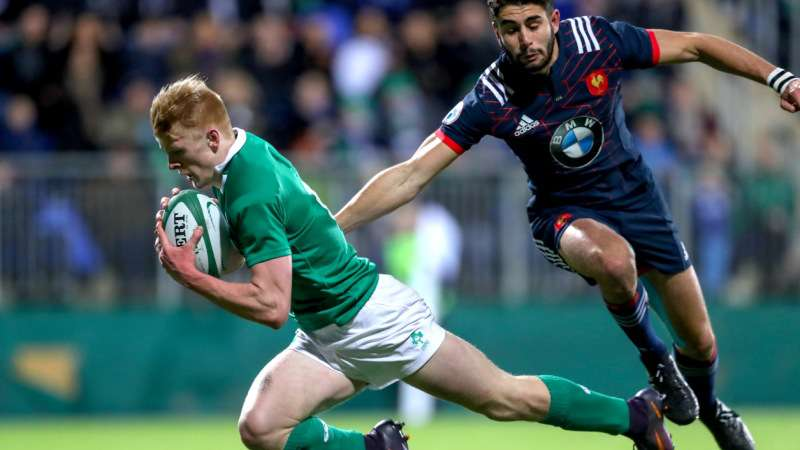 Ireland Under-20s hold off France fightback for third win