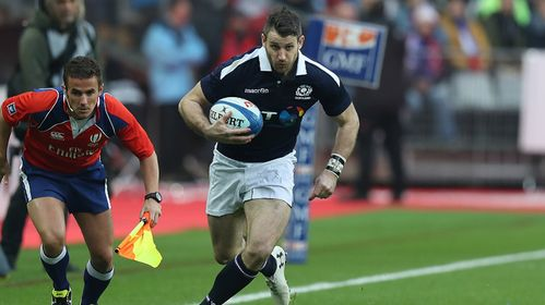 "Scotland's Seymour reveals ""nauseous"" reaction to Lions selection"