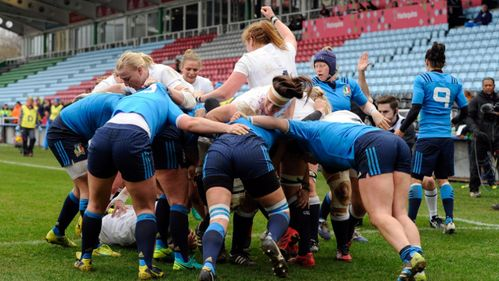 Fleetwood's historic hat-trick helps England Women down Italy