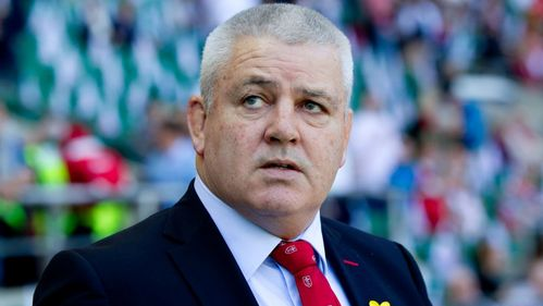 World Cup already in Gatland's thoughts
