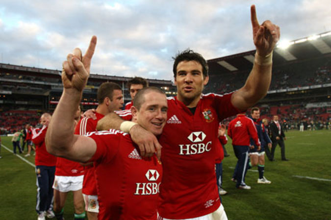 Shane Williams & Mike Phillips