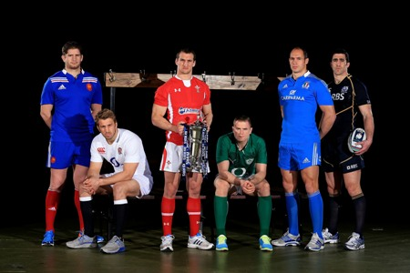 RBS 6 Nations captains
