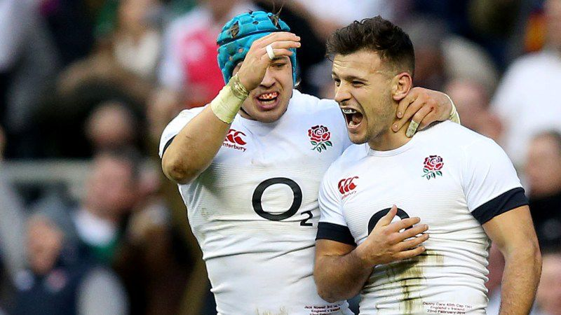Jack Nowell and Danny Care