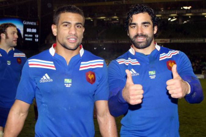 Wesley Fofana and Yoann Huget