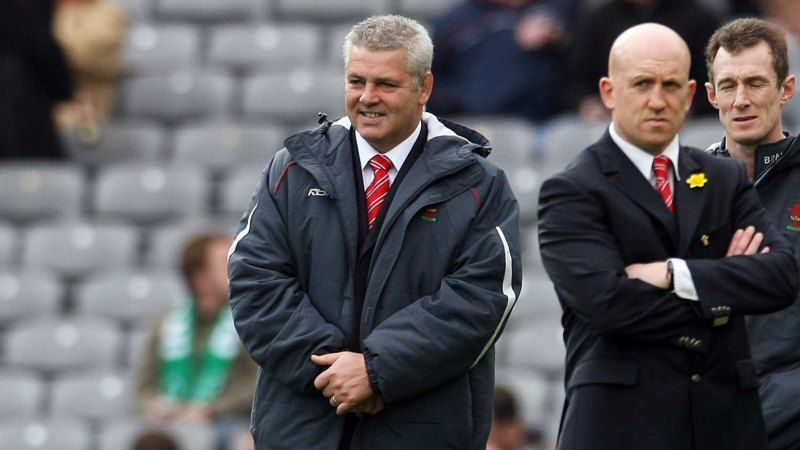 Warren Gatland, Shaun Edwards and Rob Howley