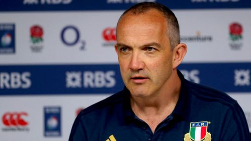Italy chief O'Shea savours Scotland showdown