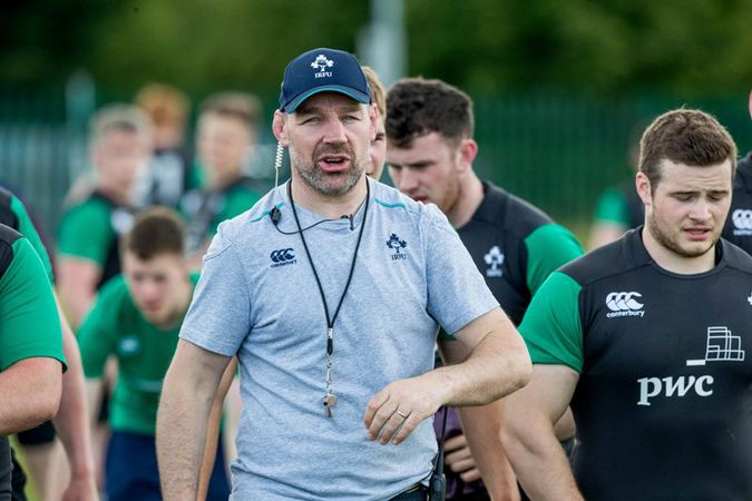 Ireland Under-20 head coach Peter Malone