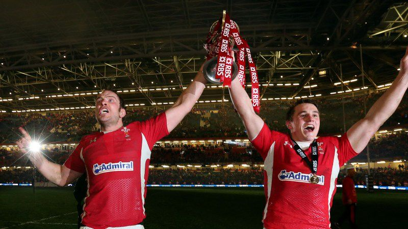 Jonathan Davies and Alun Wyn Jones