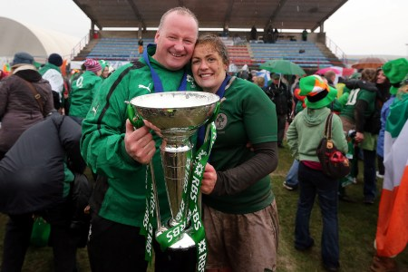 Philip Doyle and Fiona Coghlan