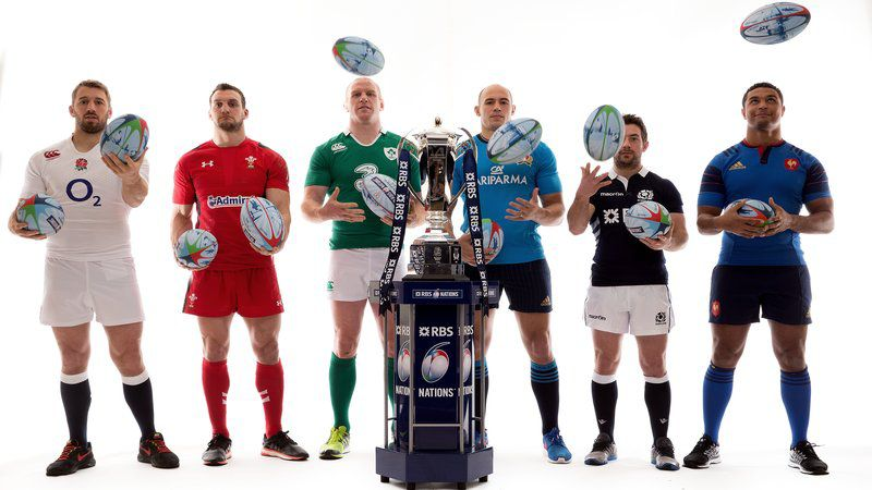 Captains launch the 2015 RBS 6 Nations : RBS 6 Nations