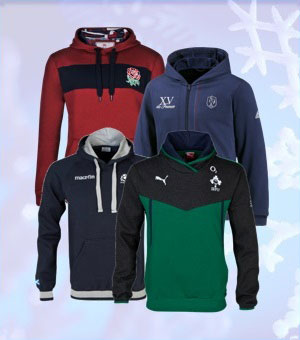 RBS 6 Nations Team Hoodies
