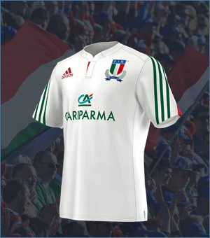 Italy Rugby Away Jersey 2014