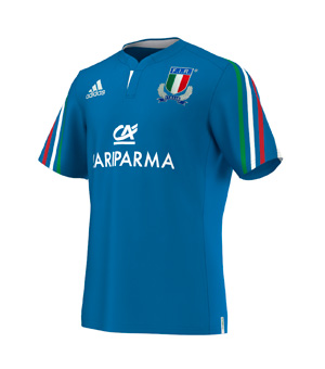 Italy Rugby Home Shirt 2014