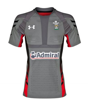 Wales Rugby Union Authentic Home Shirt 2013/15
