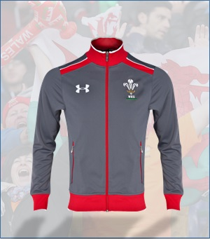 Wales Rugby Union Anthem Jacket 2013/15